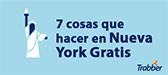 7 plans gratis per a </br> descobrir Nova York